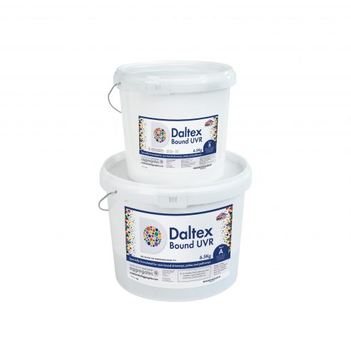Daltex UVR 6.5KG Resin Kit part A and part B