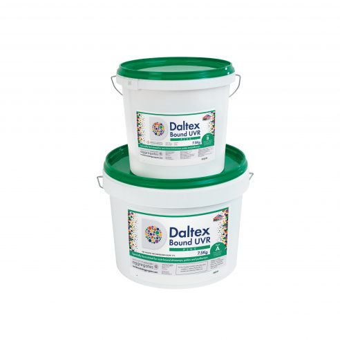 Two part kit for DALTEX UVR PLUS Resin 7.5kg part A and part B