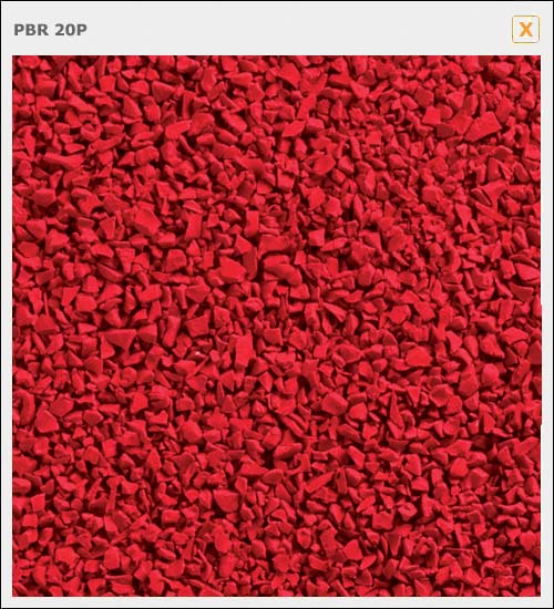 Post Box Red 1 4mm Epdm 25kg Bag Resin Drives Trade