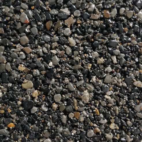 Daltex Bespoke Blend Gunmetal Grey aggregates for resin bound driveways paths and patios