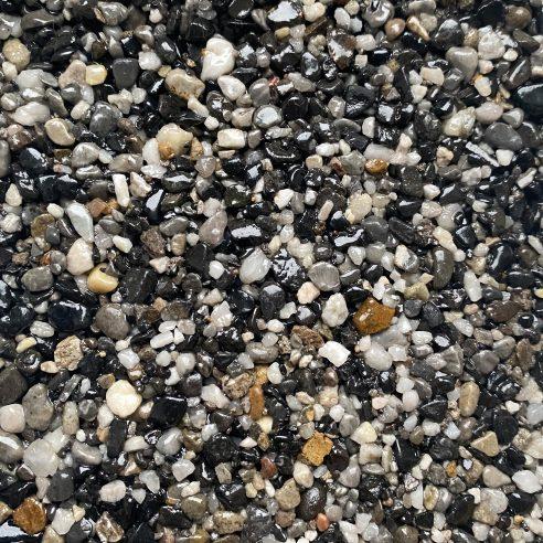 Daltex Ocean Pearl aggregate blend used for resin driveways